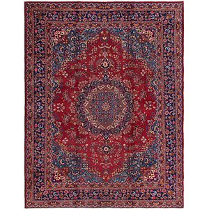 Link to 300cm x 385cm Mashad Persian Rug item page