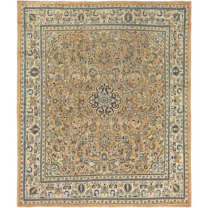Link to 312cm x 373cm Meshkabad Persian Rug item page