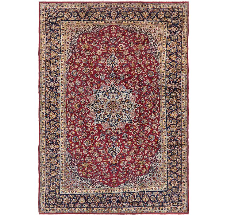 9' 7 x 13' 2 Isfahan Persian Rug