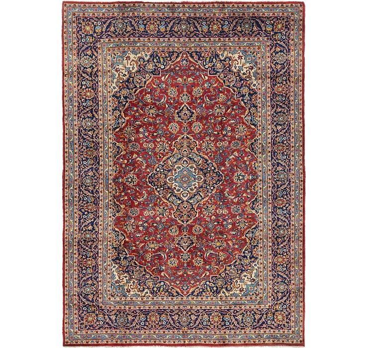 8' 4 x 11' 10 Kashan Persian Rug