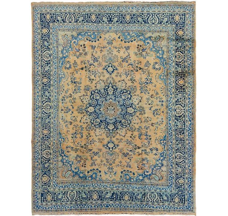 9' 10 x 12' 4 Mashad Persian Rug