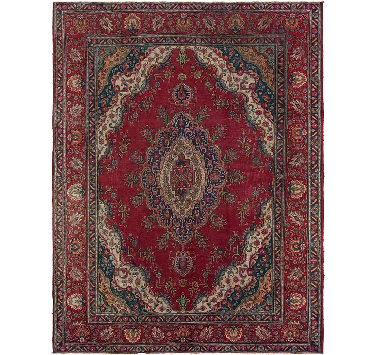295cm x 390cm Tabriz Persian Rug