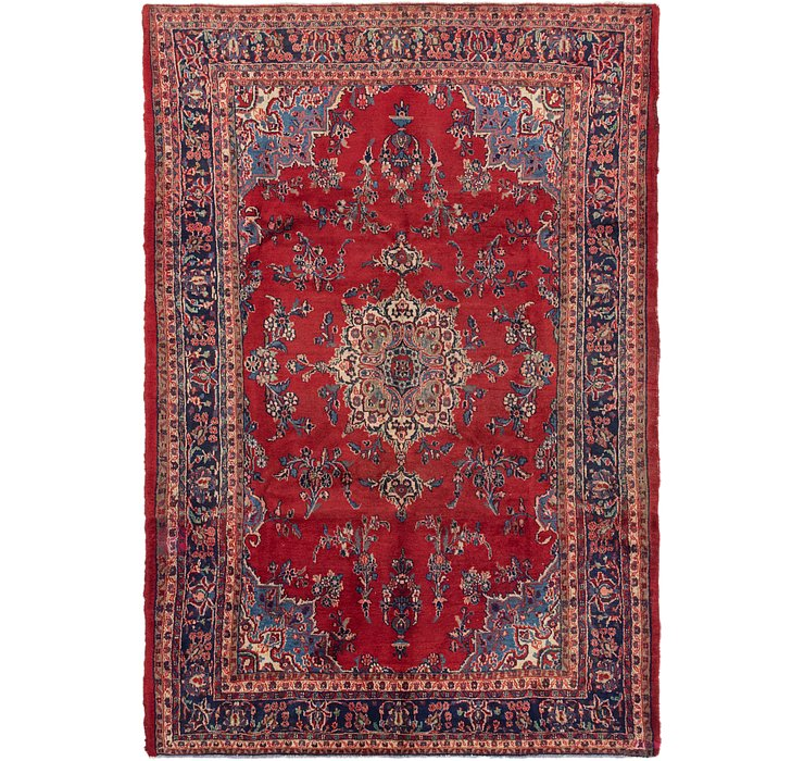 7' 3 x 10' 7 Shahrbaft Persian Rug