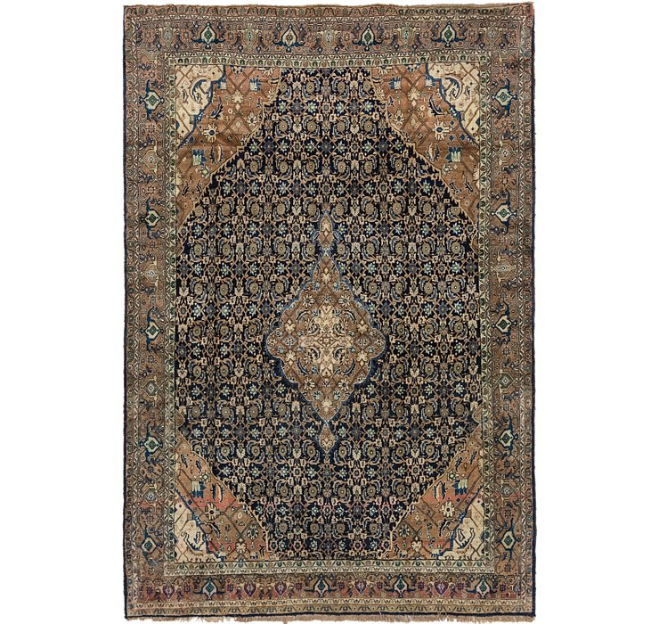 6' 9 x 10' Ardabil Persian Rug