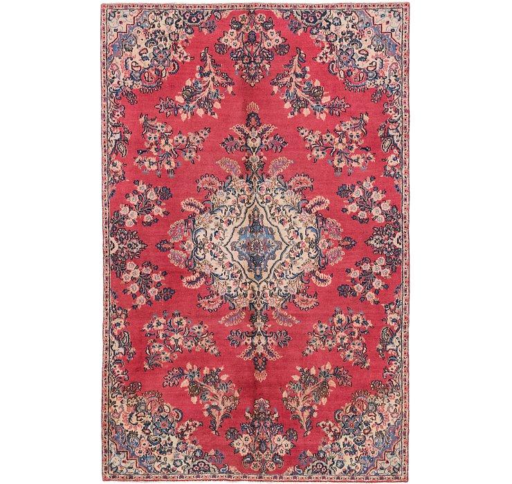5' 10 x 9' 2 Hamedan Persian Rug