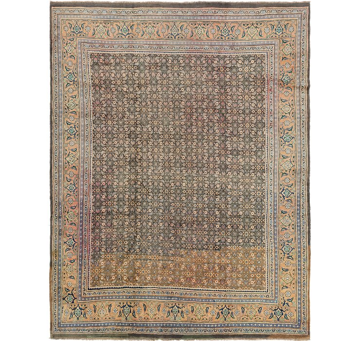 10' 3 x 13' Farahan Persian Rug