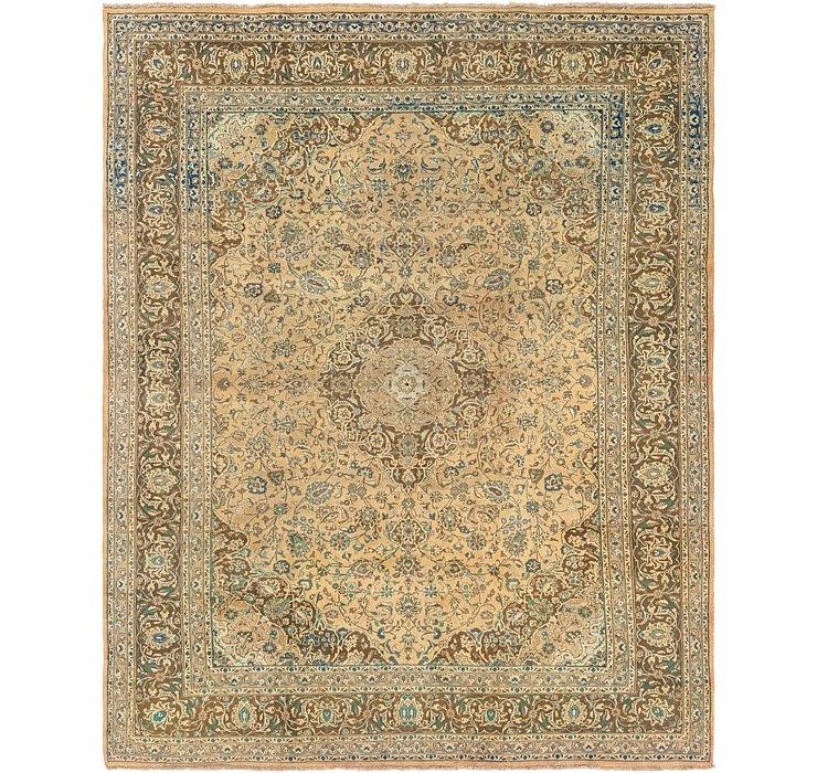 9' 7 x 12' 6 Mashad Persian Rug