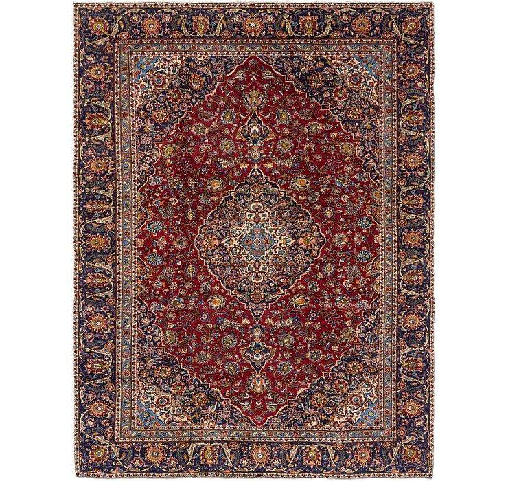 9' 2 x 12' Kashan Persian Rug