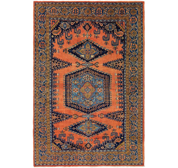 7' 8 x 12' Viss Persian Rug