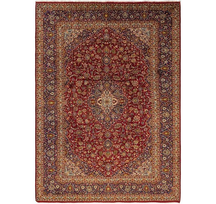 9' 9 x 13' 6 Kashan Persian Rug