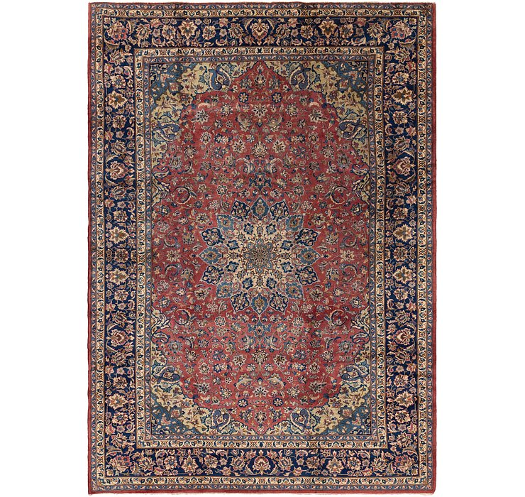 10' 2 x 14' 3 Isfahan Persian Rug