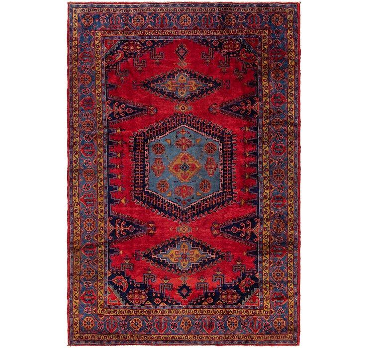 7' 10 x 11' 10 Viss Persian Rug