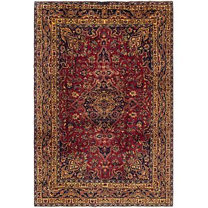 Link to 235cm x 353cm Mashad Persian Rug item page