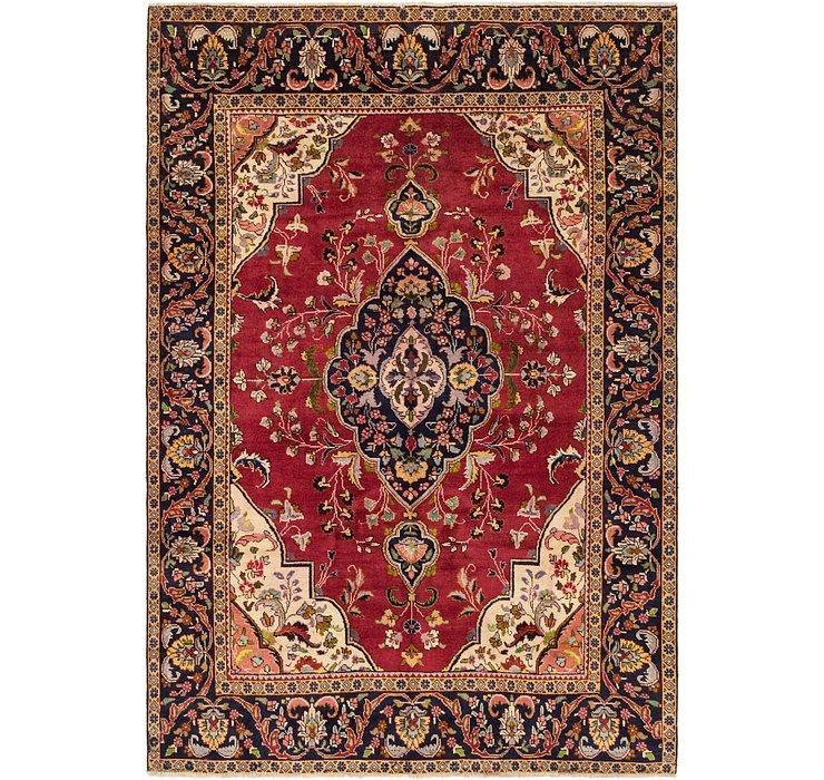 193cm x 287cm Tabriz Persian Rug