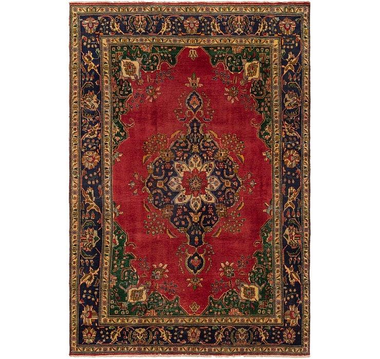 7' 6 x 11' 4 Tabriz Persian Rug