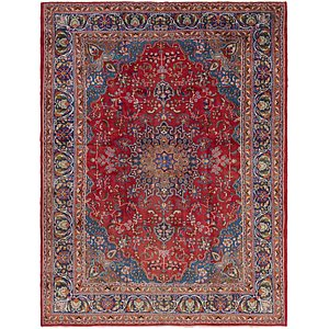 Link to 287cm x 380cm Mashad Persian Rug item page