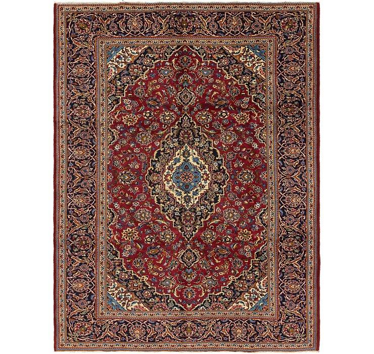 8' 3 x 10' 10 Kashan Persian Rug