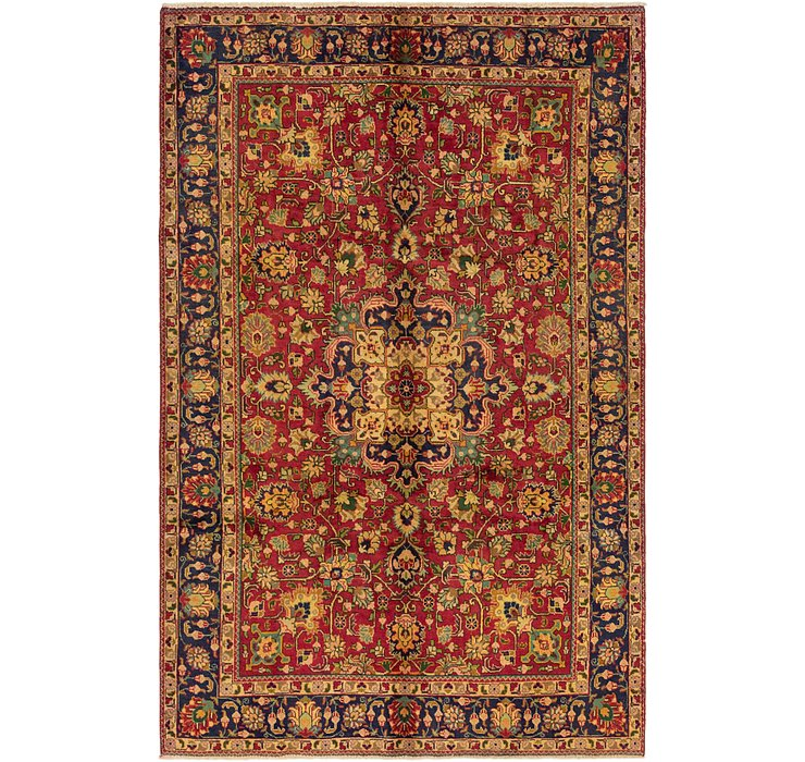 6' 3 x 9' 9 Tabriz Persian Rug