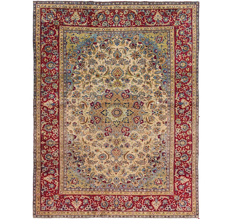 9' 8 x 12' 8 Isfahan Persian Rug