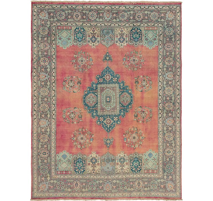 295cm x 385cm Tabriz Persian Rug