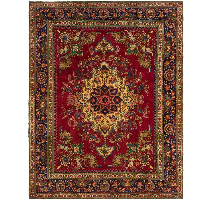 300cm x 390cm Tabriz Persian Rug