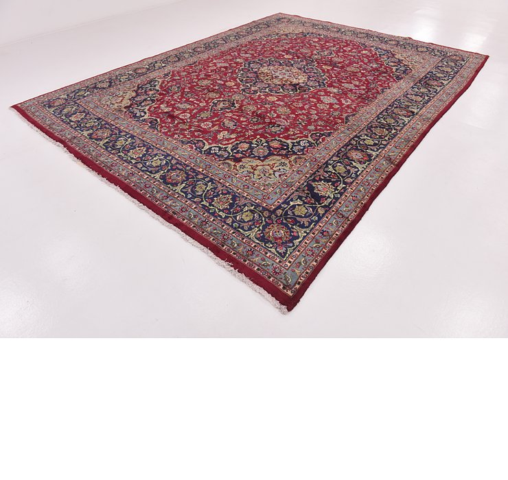 9' 10 x 12' 3 Mashad Persian Rug