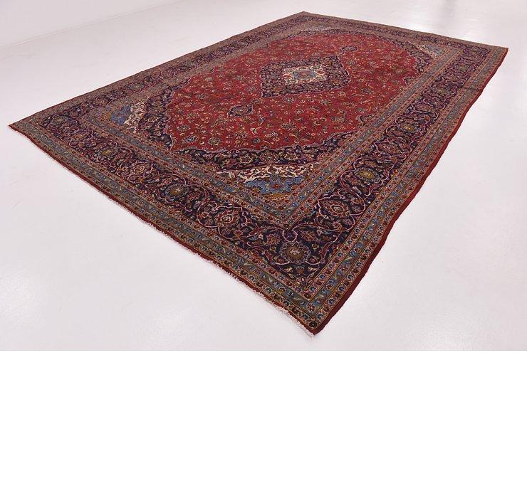 9' 9 x 14' 6 Kashan Persian Rug