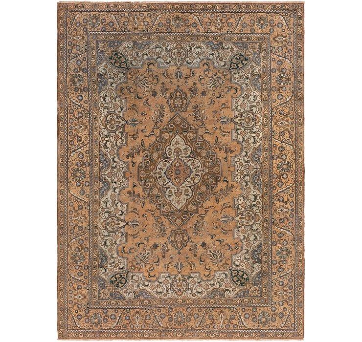10' x 13' 10 Tabriz Persian Rug
