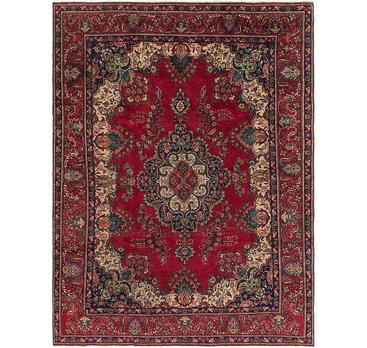 9' 3 x 12' 6 Tabriz Persian Rug