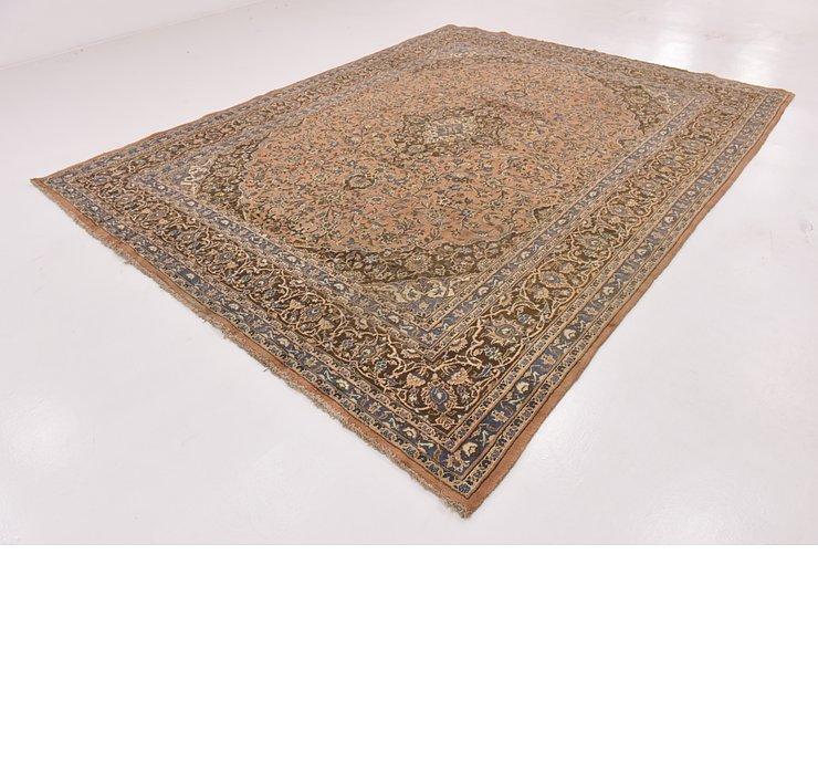 9' 6 x 12' 3 Mashad Persian Rug