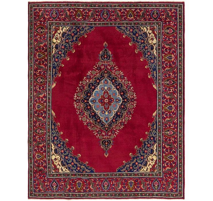 10' x 12' 7 Tabriz Persian Rug