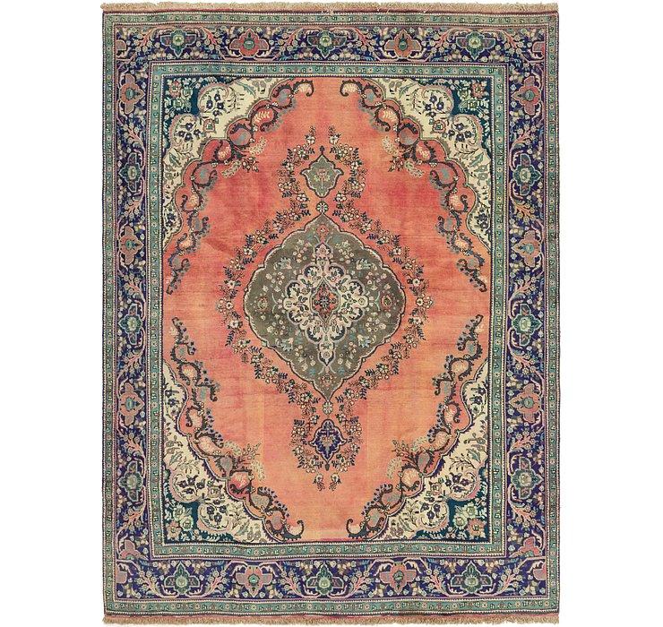 290cm x 395cm Tabriz Persian Rug