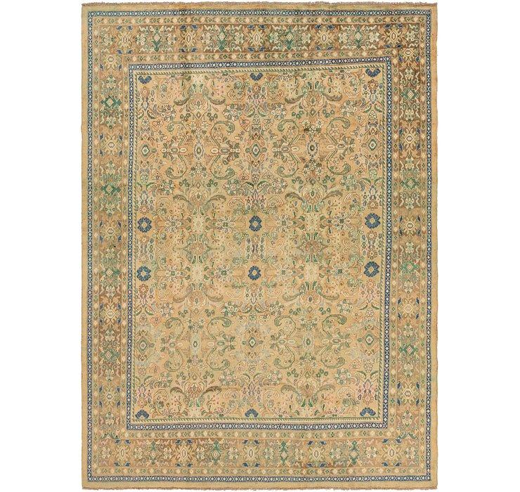 297cm x 405cm Mahal Persian Rug