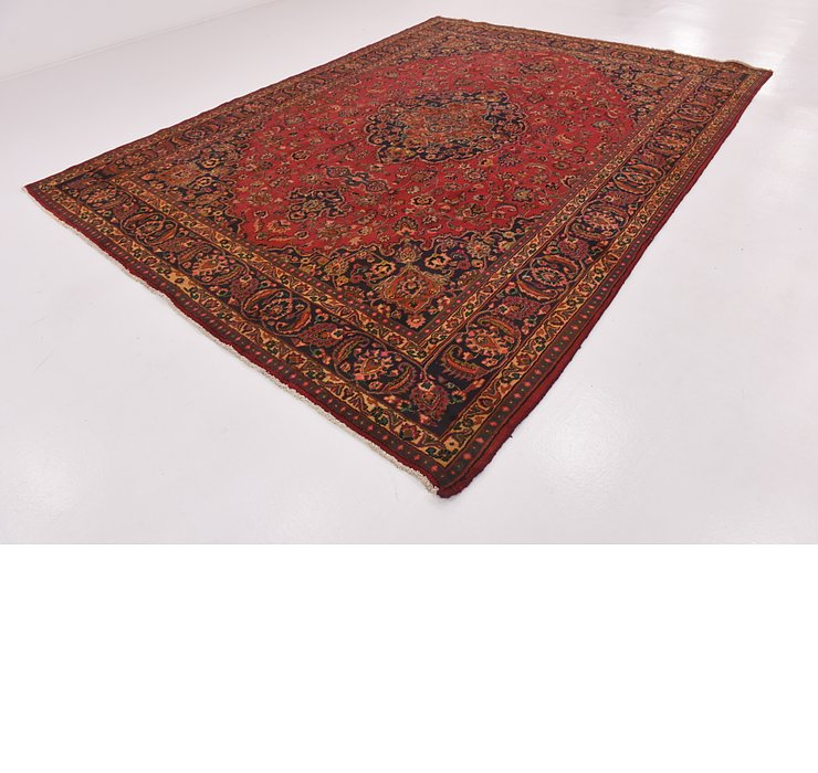 9' 3 x 12' 6 Mashad Persian Rug