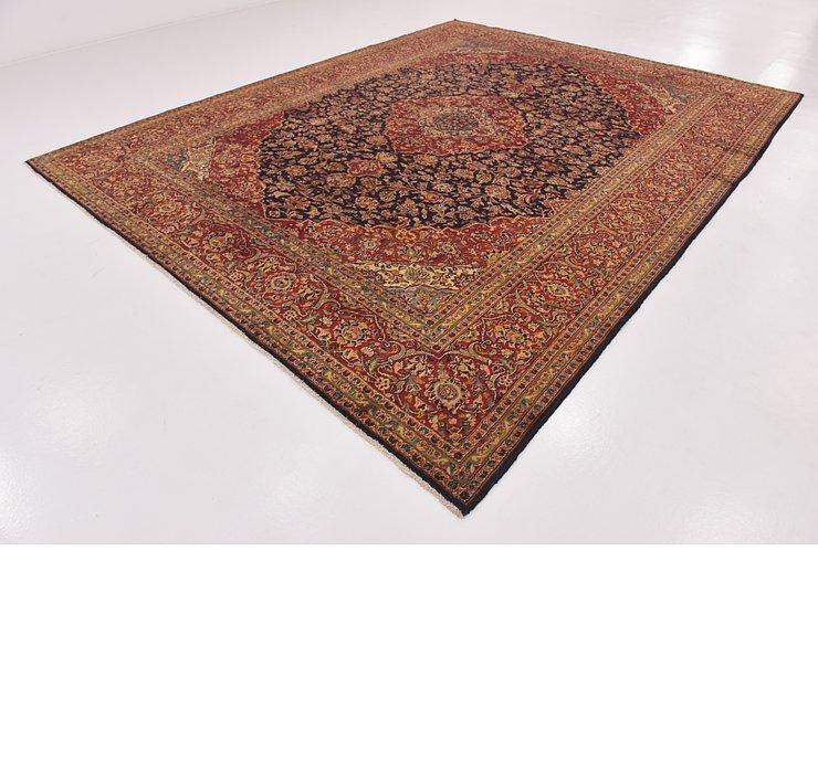 10' 2 x 13' Kashan Persian Rug