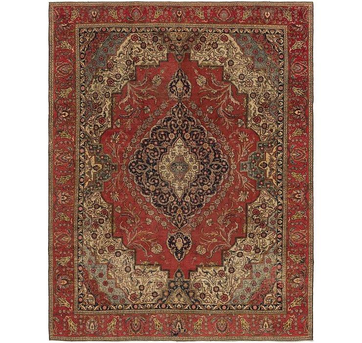 9' 3 x 11' 10 Tabriz Persian Rug