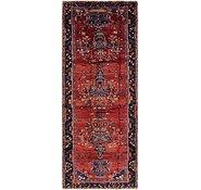 Link to 160cm x 427cm Hamedan Persian Runner Rug