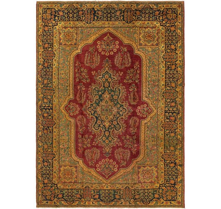 9' 8 x 13' 10 Tabriz Persian Rug