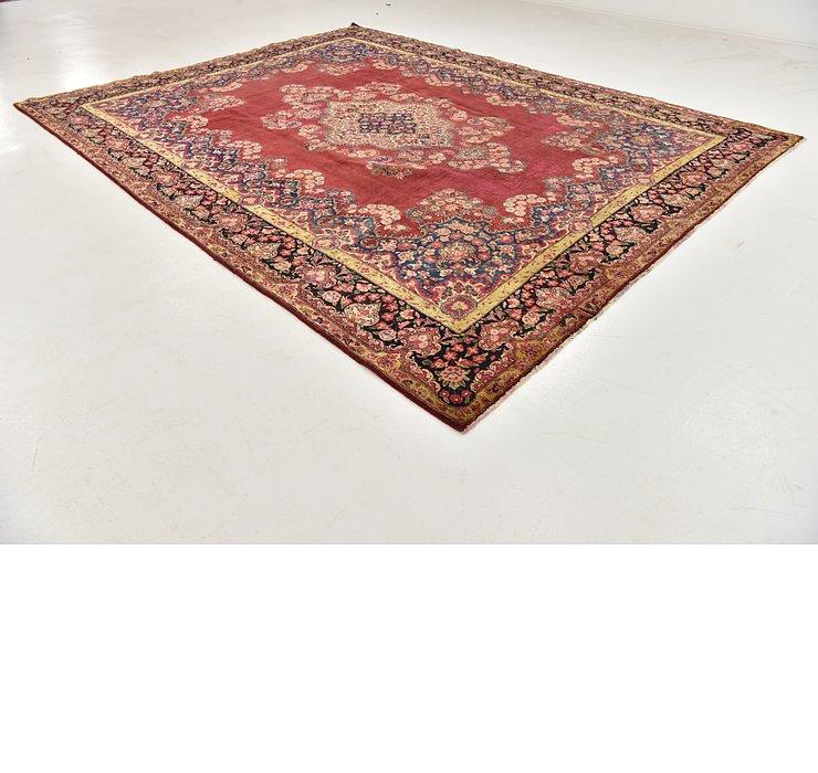 9' 6 x 12' 8 Yazd Persian Rug