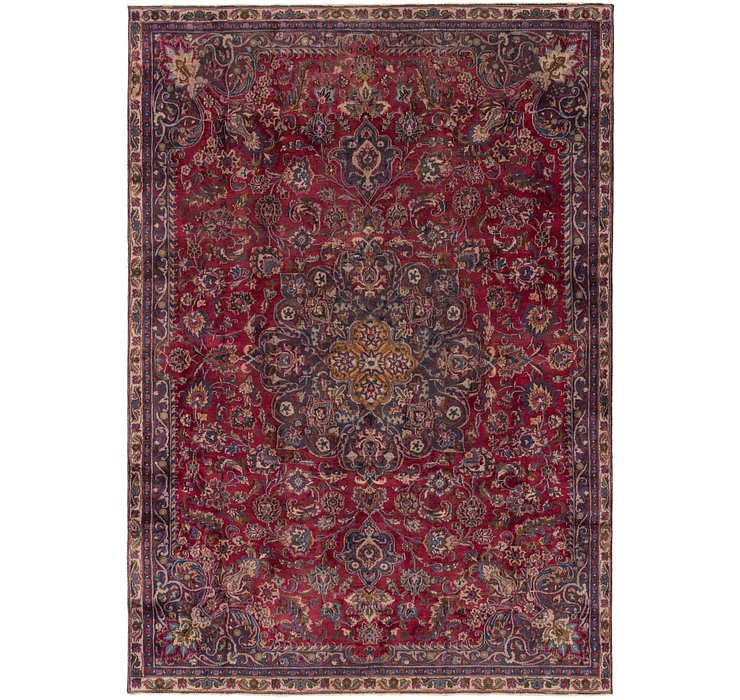 7' 6 x 10' 4 Mashad Persian Rug