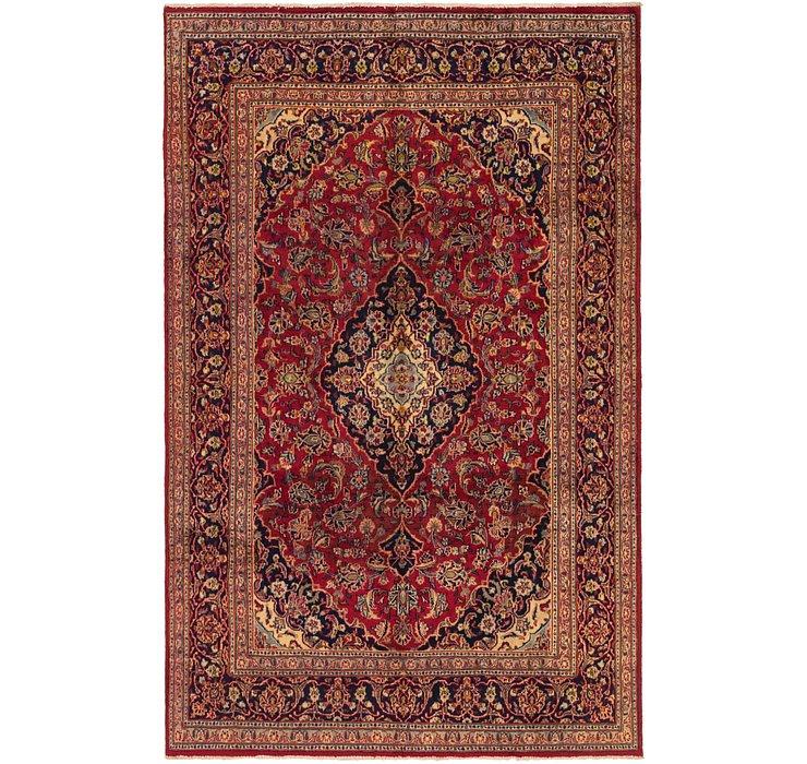 6' 4 x 9' 10 Mashad Persian Rug