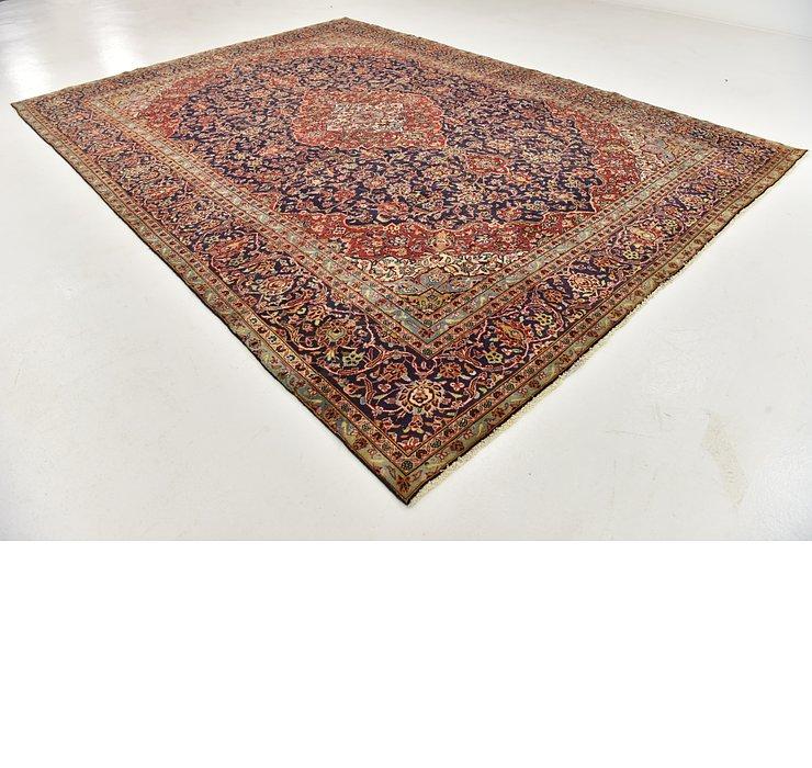 9' 4 x 12' 8 Kashan Persian Rug