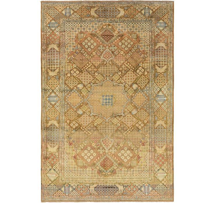 9' 6 x 14' 2 Isfahan Persian Rug