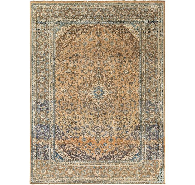 9' 3 x 12' 8 Kashan Persian Rug