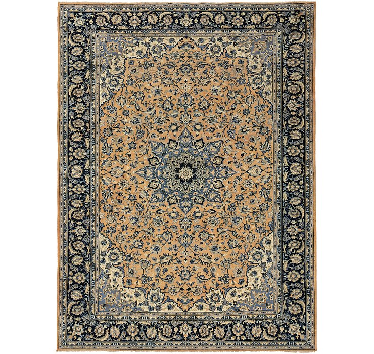 275cm x 373cm Isfahan Persian Rug