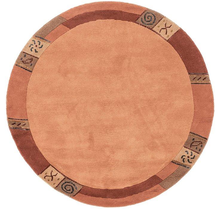 147cm x 147cm Indo Tibet Round Rug