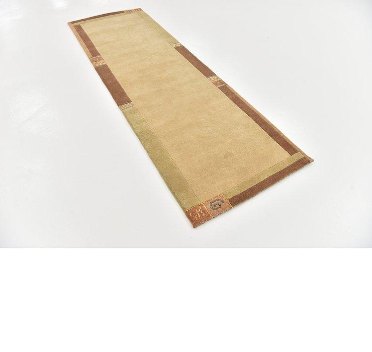 2' 9 x 8' 2 Indo Tibet Runner Rug