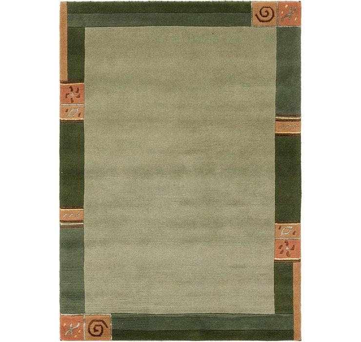 4' x 5' 10 Indo Tibet Rug