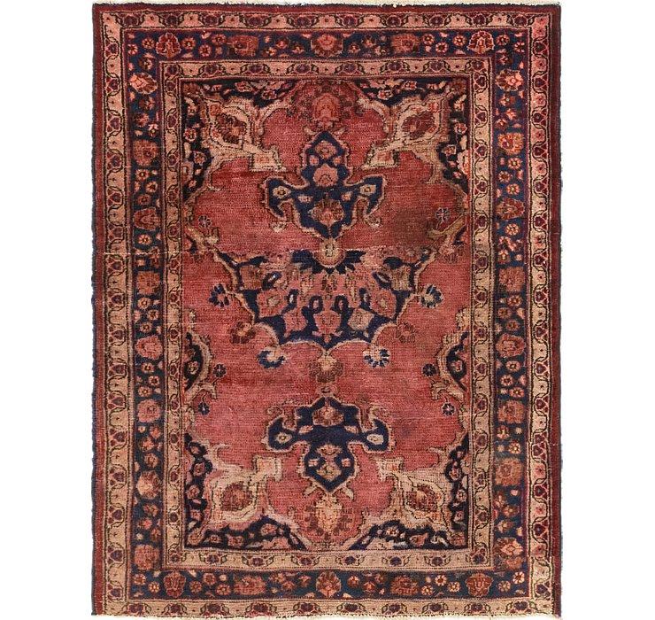 3' 9 x 5' 1 Hamedan Persian Rug