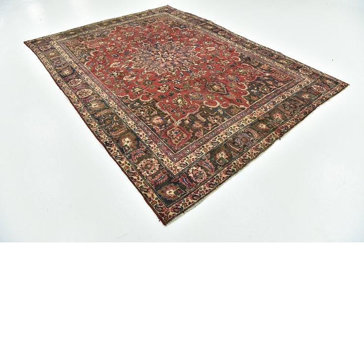 8' x 10' 7 Mashad Persian Rug